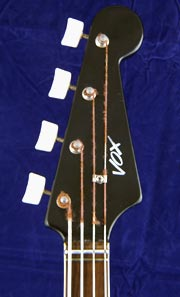 Vox Panther headstock (front)