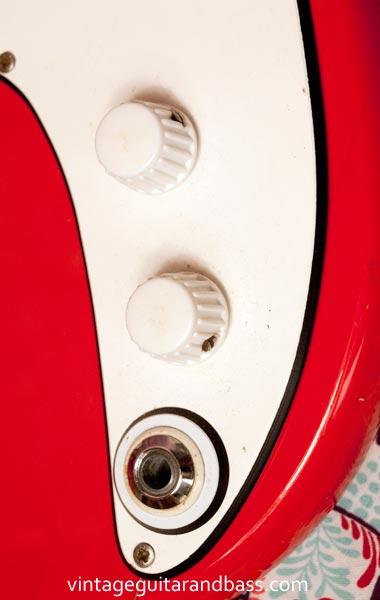 1967 Vox Stroller - control detail