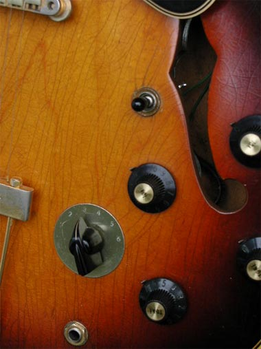 Gibson ES-345 TD back
