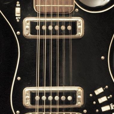 Hagstrom 12 - Twelve String Electric Guitar H-12, F-12S ... on