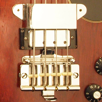 1968 Gibson EB3 bridge