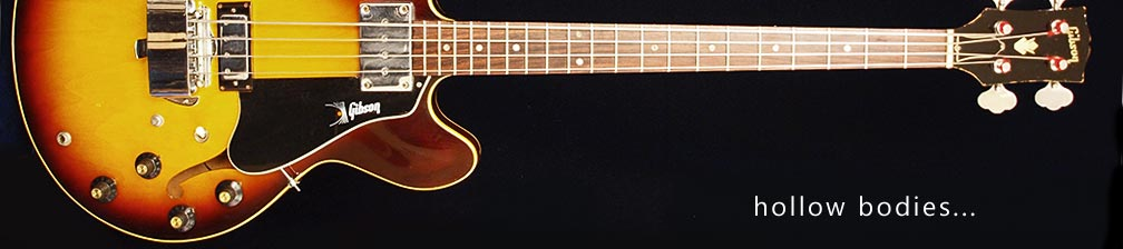 vintage guitar and bass