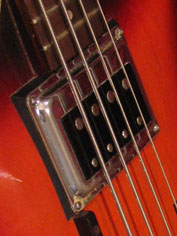 1968 Guild Starfire Bass - Hagstrom bisonic pickup