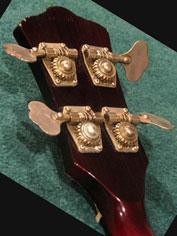 1968 Guild Starfire Bass - headstock reverse