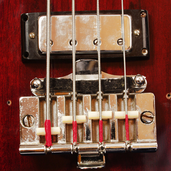 1969 Gibson EB3 bridge