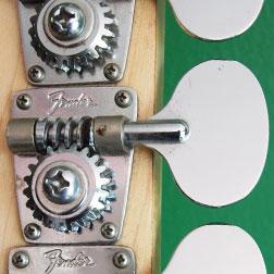 Fender open gear tuning keys