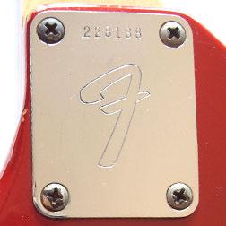 Fender Mustang bass neckplate