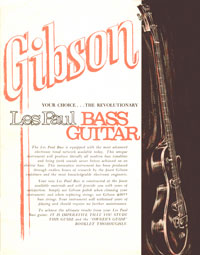 1969 Gibson Les Paul Personal / Professional owners manual