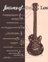 1969 Les Paul bass owners manual page 2