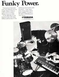 Yamaha guitars - Funky Power