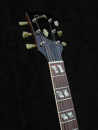 1970 Gibson ES-175D headstock and neck detail
