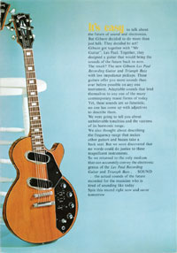 1971 Les Paul Low Impedance brochure page 3