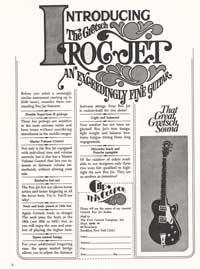 Gretsch Roc Jet - Introducing the Gretsch Roc Jet - An Exceedingly Fine Guitar
