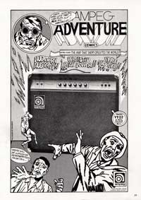 Ampeg VT-22 - Ampeg Adventure Comics