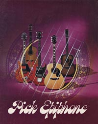 1971 Pick Epiphone catalogue