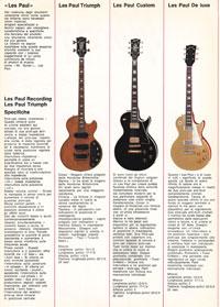 1971 Gibson guitar catalogue - Italian, Monzino - page 2