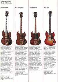 1971 Gibson guitar catalogue - Italian, Monzino - page 3