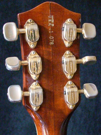 1971 Gretsch Chet Atkins Country Gentleman - Reverse headstock detail