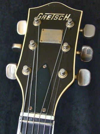 1971 Gretsch Chet Atkins Country Gentleman - headstock detail