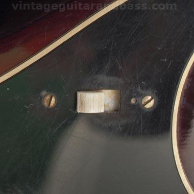 1972 Hagstrom HIIN-OT tuning key detail
