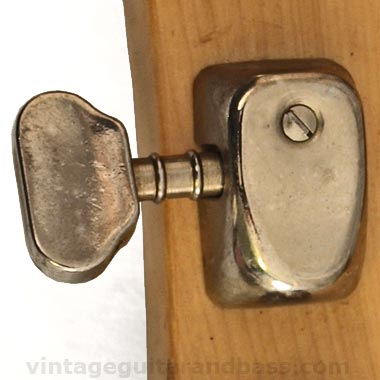 1972 Hagstrom HIIN-OT - Van Ghent tuning key detail