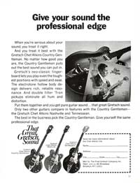 Gretsch Chet Atkins Hollowbody / Nashville PX 6120 - Give Your Sound the Professional Edge
