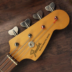Fender Musicmaster bass headstock