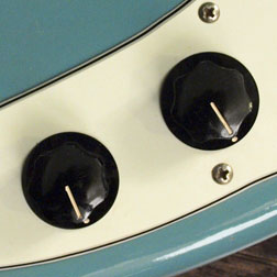 Fender Musicmaster bass control knobs