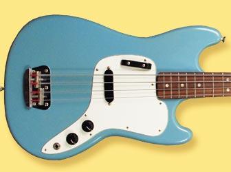 Vintage Profile: 1973 Fender Musicmaster bass