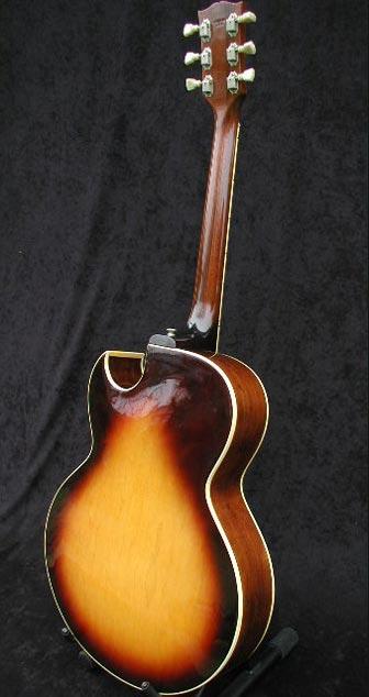 1974 Gibson ES-175D rear view