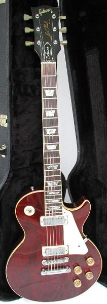 1976 Wine Red Les Paul Deluxe with case