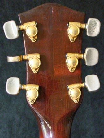 1976 Chet Atkins Gretsch Country Gentleman - reverse headstock detail