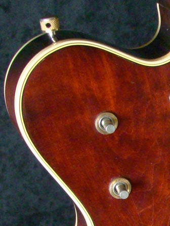1976 Chet Atkins Gretsch Country Gentleman - switch detail