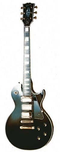 1977 Les Paul Custom ebony finish