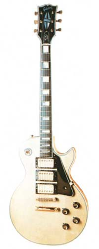 1977 Les Paul Custom natural finish