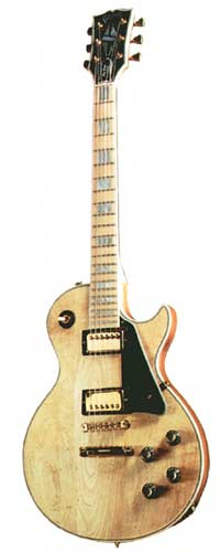 1977 Les Paul Custom. Natural finish with maple fingerboard