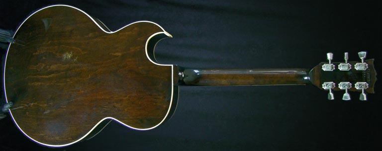 1979 Gibson ES-175D rear view