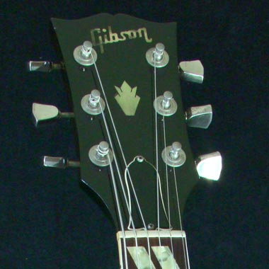 1979 Gibson ES-175D headstock detail