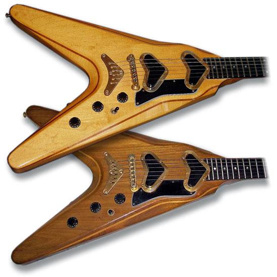 Gibson Flying V2s
