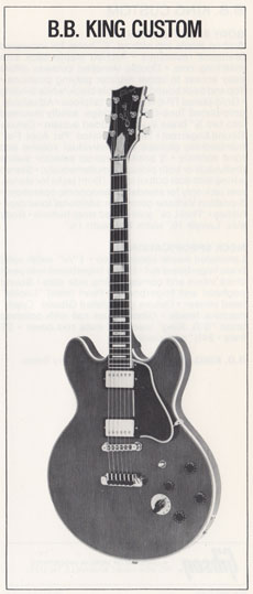 1981 BB King Custom