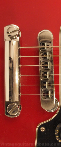 Gibson Victory MV2 floating bridge and tailpiece