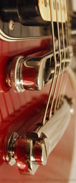 Gibson Victory MV2 tailpiece, detailed view