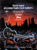 1982 promotional flyer for the Gibson Sonex Deluxe