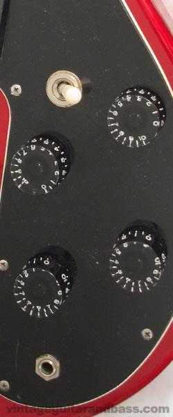 Gibson Sonex 180 deluxe controls
