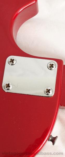 Gibson Sonex 180 deluxe heel plate