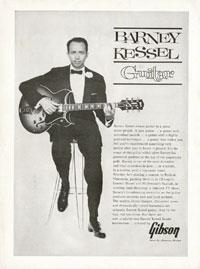 Gibson Barney Kessel Custom - Barney Kessel Guitar