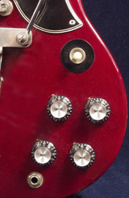 1963 Gibson SG standard - front