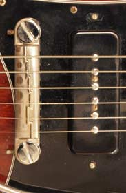 1969 Gibson SG special - bridge and P90 pickup