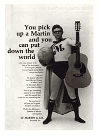 Martin Guitars - You Pick up a Martin, and you can Put Down the World