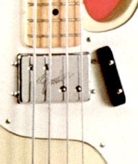 1972 Fender Telecaster Bass Humbucker